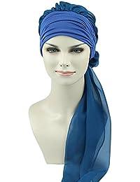 d5cf704f159 FocusCare la chimio turban pour les femmes cancer confortable tissu  coiffure en bambou