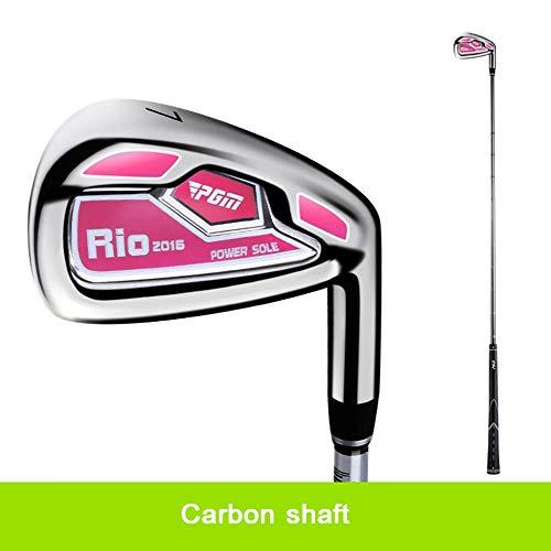 YPSMCYL Golfschläger Golfeisen Golfschläger 7 Eisen/Carbon Rod Anfängerclub Herren Und Damen,Women-Carbonshaft