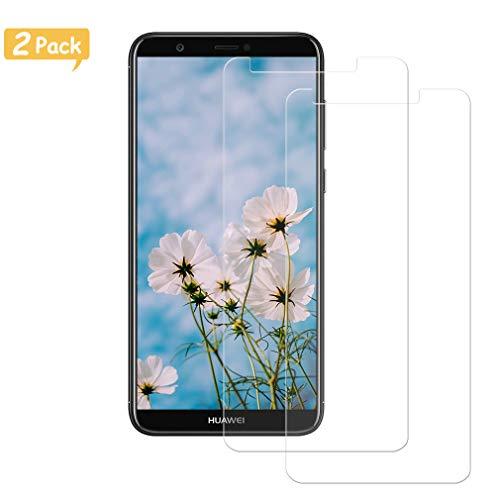 Sunoule [2-Pezzi Vetro Temperato Compatibile con Huawei P Smart 2018, Ultra Resistente Pellicola...