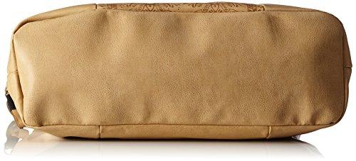 Volcom Dezert Mist Tote - Borse a spalla Donna, Braun (Vintage Brown), 14x34x38 cm (B x H T) Marrone (Vintage Brown)