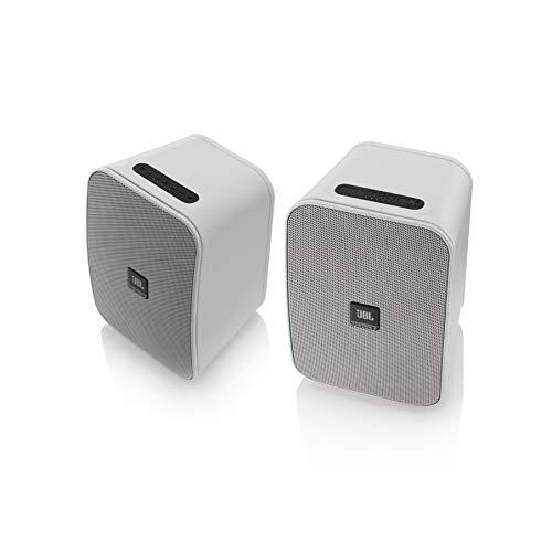 JBL Control X Wireless Bluetooth-Lautsprecher (Wetterfest, 1 Paar) weiß