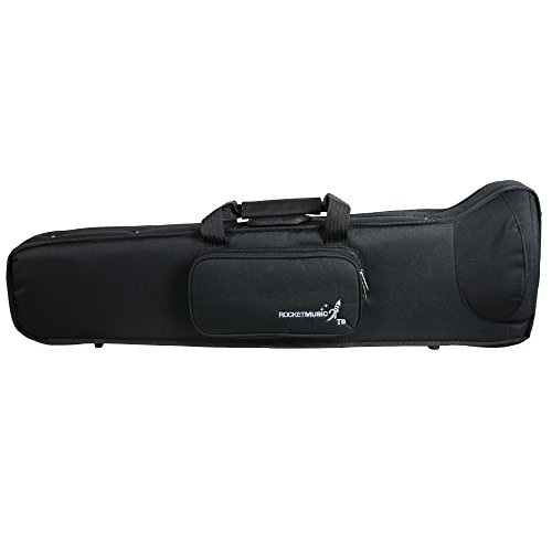 Rocket Music TRM01CA - Funda para trombón, color negro