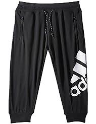 Adidas essentials pantalon de sport 3/4 avec logo