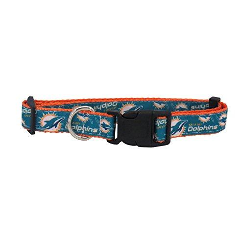 nfl-miami-dolphins-team-pet-ribbon-collar-medium