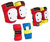 Pro-Tec Street Gear Junior 3 Pack Protecciones, Unisex niños, (Retro), M
