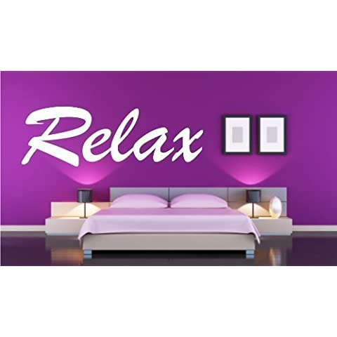 ShirtInStyle Pegatina Adhesivo Para Pared Láminas adhesivas Relax - oro, 60 cm x 20 cm