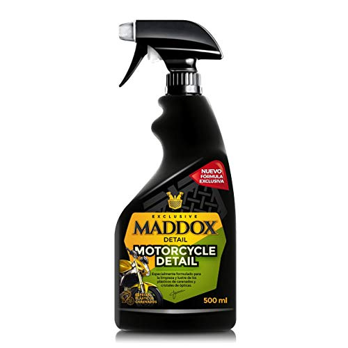 Maddox Detail 50101 Motorcycle Detail - Limpiador para Motos. Sin Agua (500ml)