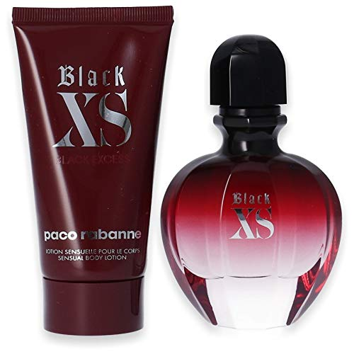 Paco Rabanne Black XS for her Set mit Body Lotion 50ml + 75ml