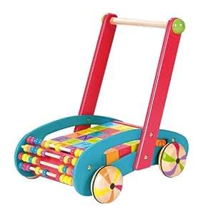 Janod Original Abc Buggy Baby Walker Amazon Co Uk Toys