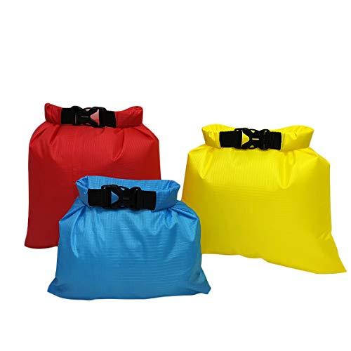 BESPORTBLE 3 STÜCKE Water-Schwimmboje Ultraleichtes Sicherheitsschwimmer-Schwimmersack für Schwimmer Triathleten-Schnorchler Surfer