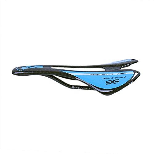 ESEN SP Superlight MTB/Rennrad Voll Carbon Hohl Sattel 3k matt/glänzend (Glossy, Blue)