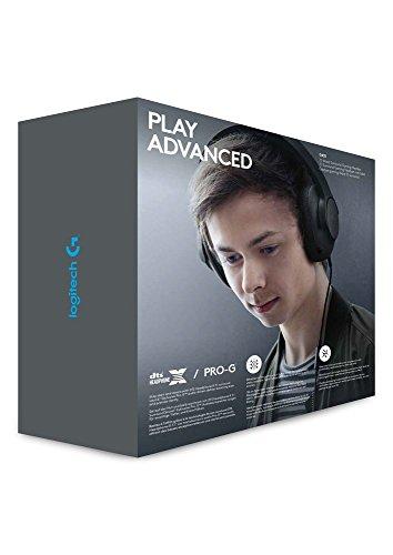 Logitech G433 Kabelgebundene Gaming Kopfhörer (7.1 Surround Sound, für PC, Xbox One, PS4, Switch, Mobiltelefon) schwarz - 16