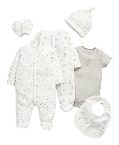 mamas-and-papas-baby-6-piece-duckling-clothing-set-beige-sand-0-3-months