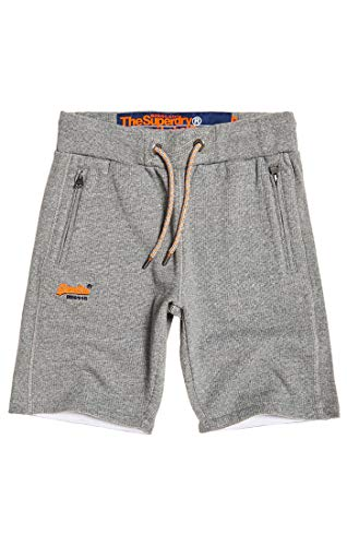 Superdry Orange Label Cali Short Sport, Gris (Hammer Grey Grindle Pw8), 40 (Taille Fabricant: Small) Homm