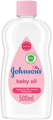 JOHNSON'S Baby Moisturising Oil, 500ml