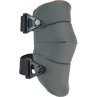 ALTA Tactical Unisex Altasoft Capless Knee Pads, Gray/Orange
