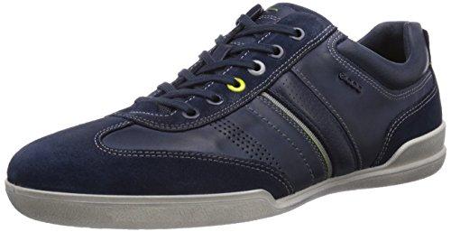 Ecco Enrico, Low-Top Sneaker uomo, Marrone (Braun (Marine/Marine Suede/Firefly50642)), 44