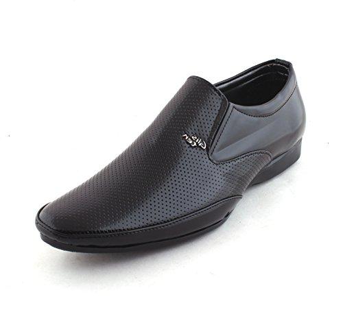 Amanio Formal Shoes FF38_8 Black