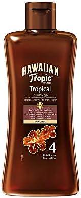 Hawaiian Tropic Tanning Oil Coconut SPF4-200ml