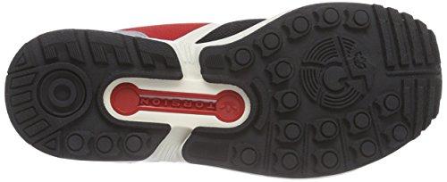 Núcleo Negro División Nero negro Flujo Color Adidas Unisex Deporte De Escarlata negro Zx Central Zapatillas De IqwnO7R5