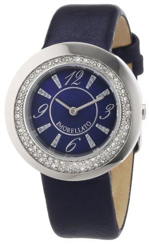 Sector - R0151112502 - Luna - Montre Femme - Quartz Analogique - Cadran Bleu - Bracelet Cuir Bleu