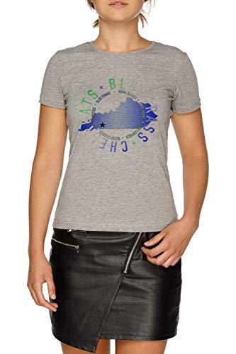 Bluegrass State w Damen Grau T-Shirt Größe XL   Women's Grey T-Shirt Size XL