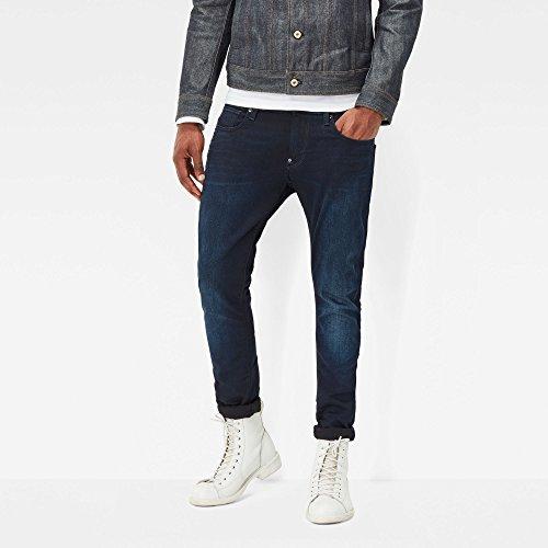 G-STAR Herren Revend Super Slim Jeans Blau (dk aged 89)
