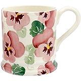 Emma Bridgewater Pink Pansy Half Pint Mug