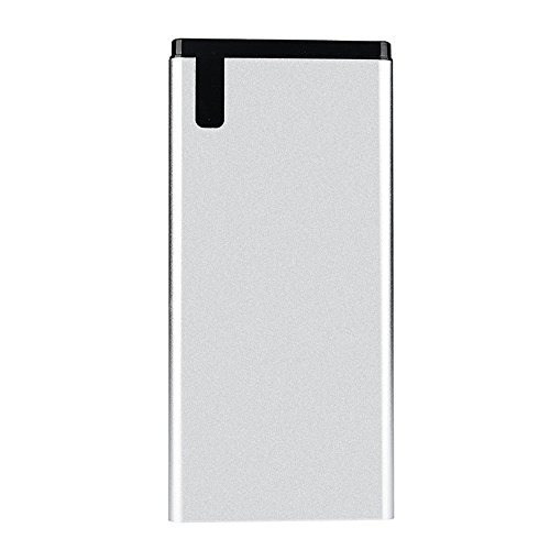 le bewegliche Energie 20000mAh, Tragbare Externe Batterie-Ladegerät-Energie-Bank USBs für Handy (Silber) ()