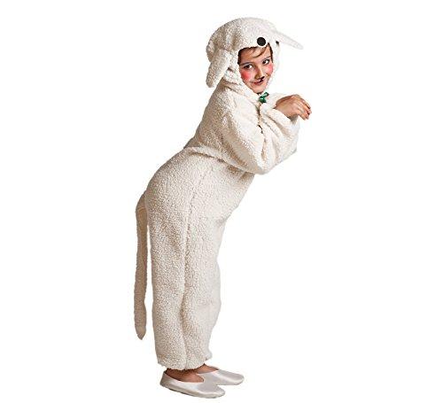 Imagen de disfraz de oveja blanca para niños
