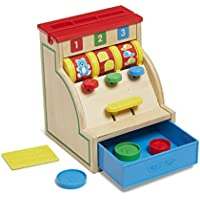 Baby Melissa & Doug Kasse aus Holz Rollenspiel Kaufladen Kinder Spielzeug Neu