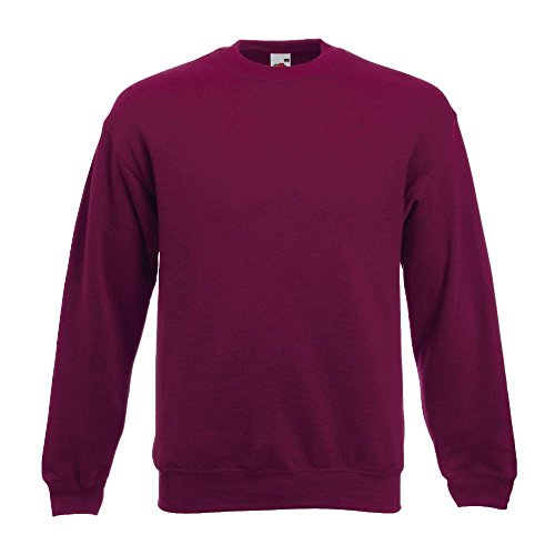 Fruit of the Loom - Sweatshirt 'Set-In' XXL,Burgundy