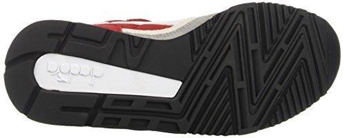 Diadora V7000 Nyl Ii, Sneaker a Collo Basso Unisex – Adulto Rosso (Rosso Capitale/Grigio Paloma)