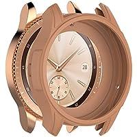 Cooljun Compatible avec Samsung Galaxy Watch 42mm,Housse complète en Silicone Souple TPU Protection