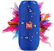 Inovaxis Wireless Hoparlör Tg117 Su Geçirmez Wiriles Speaker, Mavi