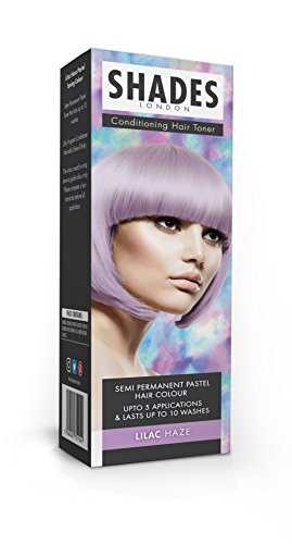 Shades London Semi-permanente Pastell-Haartönung Lilac Haze, 1er Pack(1 x 75 ml)