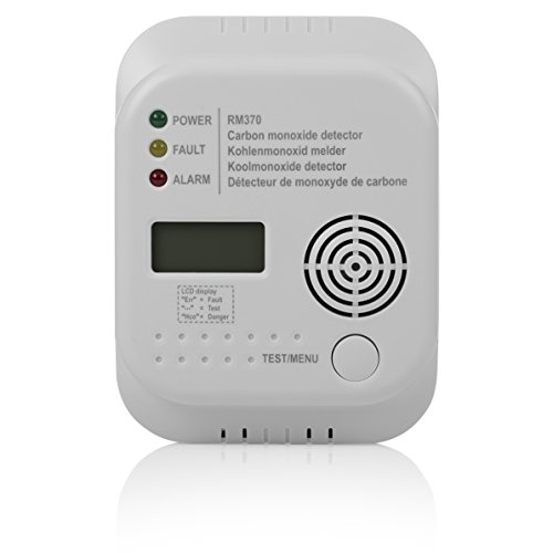 Smartwares Kohlenmonoxid Melder RM370 mit Display