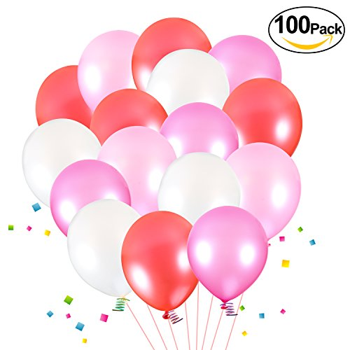 Foonii 100 Stücke Ballons, Farbi...