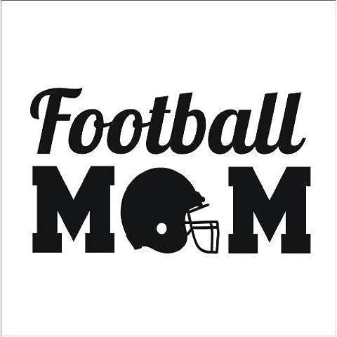 Lettera personalizzata con nome Monogram Football Sport Supertogether-Adesivi da parete, decorazioni da parete per bambini