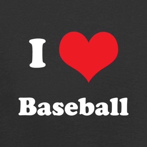 I Love Baseball - Herren T-Shirt - 13 Farben Schwarz