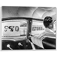 """Imagen en vidrio: Andreas Bauer """"Inside travelling - outside history, Havana, Cuba"""", mural de alta calidad, magnífica impresión de arte sobre auténtico vidrio, 60x40 cm"""