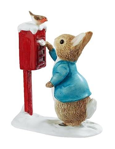 Beatrix Potter Figurine Pierre Lapin poste une lettre