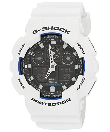 Casio G-Shock Analog-Digital Multi-Color Dial Men's Watch - GA-100B-7ADR (G345)