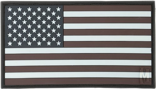 Maxpedition USA2Z - Patch USA, Mehrfarbig, Large