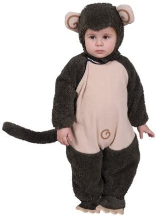 Dress up America for Plush Lil' Monkey Costume Set for America Kid (6-12 Months) by Dress Up America d6b174