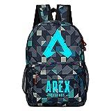 yuhiugre Unisex School Backpack,APEX Legends Canvas Rucksack Laptop Book Bag Satchel Hiking Bag, Plenty of Storage Bag fit School, Travel, Outdoors(APEX Legends-2)