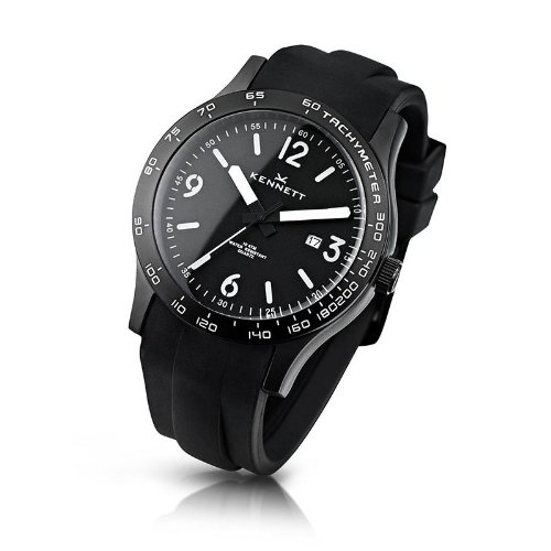 Kennett Men's Watch 1001.3402 Altitude Black And Arctic White
