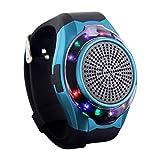 Wireless Bluetooth Lautsprecher Armbanduhr Tragbare Sport Armband UKW-Radio Freisprechfunktion Telefon-Anti-Verlorene MP3-Musik-Player TF Karten-Unterstützung Remote-Selbstauslöser 7 Farbenblendung