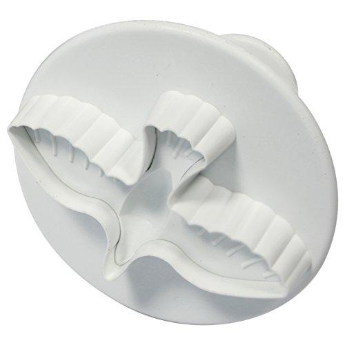 PME-Dove stantuffo Cutter, plastica, bianco, plastica, Bianco,