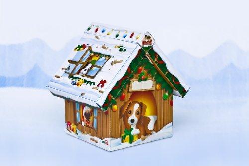 Adventshäuschen für Hunde. Advent Calender House for dogs: Der Adventskalender für Ihren Hund. The Advent Calendar for your dog